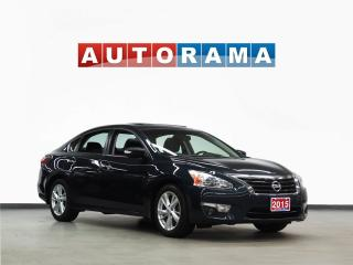 Used 2015 Nissan Altima TECH PKG NAVIGATION LEATHER SUNROOF BACKUP CAM for sale in North York, ON