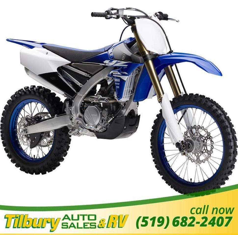 2018 Yamaha YZ250FX 250 cc, DOHC, 4-valve engine.