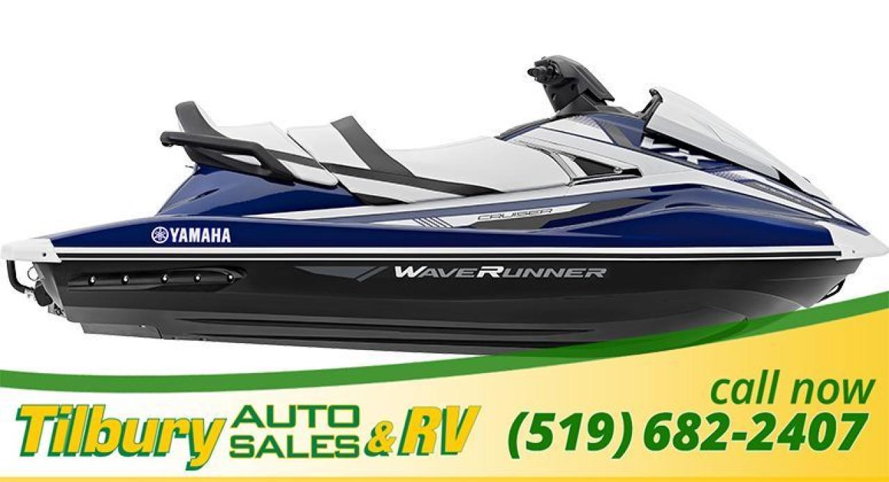 2018 Yamaha VX CRUISER WAVERUNNER. JETSKI. SEADOO.