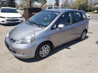 Used 2007 Honda Fit LX w/Cruise Control for sale in Toronto, ON