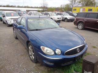 Used 2005 Buick Allure CXS for sale in Oshawa, ON