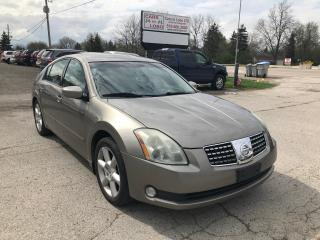 Used 2006 Nissan Maxima 3.5 SE for sale in Komoka, ON