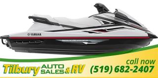 New 2018 Yamaha VX Deluxe WAVERUNNER. JETSKI. SEADOO. for sale in Tilbury, ON