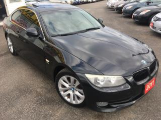 Used 2011 BMW 3 Series 328i xDrive/AWD/LEATHER/SUNROOF/HEATED SEATS/CLEAN for sale in Scarborough, ON