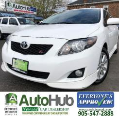 Used 2010 Toyota Corolla S-LEATHER-SUNROOF-HEATED SEATS for sale in Hamilton, ON