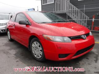 Used 2007 Honda Civic 2D COUPE for sale in Calgary, AB
