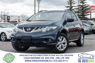 Used 2013 Nissan Murano SV PANO ROOF + REAR CAMERA AUTO START for sale in Caledon, ON