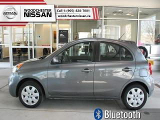 Used 2016 Nissan Micra SV  - $80.71 B/W for sale in Mississauga, ON