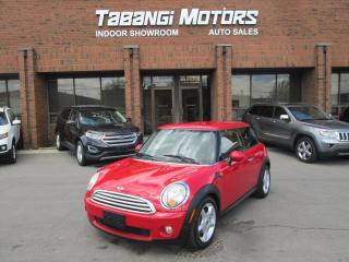 Used 2008 MINI Cooper Hardtop LEATHER | 6-SPEED | LOW KM! for sale in Mississauga, ON