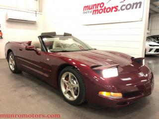 Used 2003 Chevrolet Corvette 50th Anniversary Manual Mag Ride for sale in St George Brant, ON