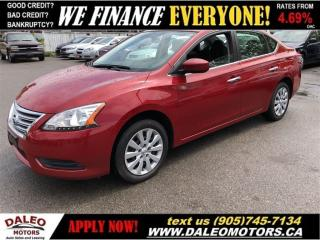 Used 2014 Nissan Sentra 1.8 S| BLUETOOTH | VOICE COMMAND for sale in Hamilton, ON