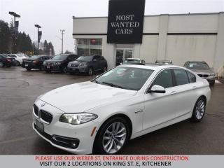 Used 2016 BMW 528 i xDrive | HEADS UP DISPLAY | 360 CAM | NAVIGATION for sale in Kitchener, ON