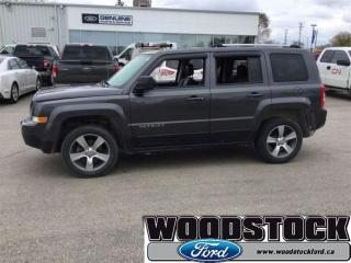Used 2016 Jeep Patriot Sport - Cruise Control -  Cloth Seats for sale in Woodstock, ON