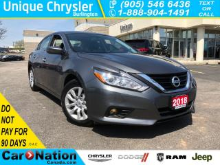 Used 2018 Nissan Altima 2.5 S|HEATED SEATS|GREAT PRICE WON'T LAST LONG!| for sale in Burlington, ON