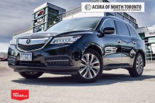 Used 2016 Acura MDX Tech Accident Free| Remote Start| DVD| for sale in Thornhill, ON