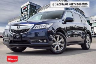 Used 2016 Acura MDX Elite Accident Free| 360 Camera| Navigation for sale in Thornhill, ON