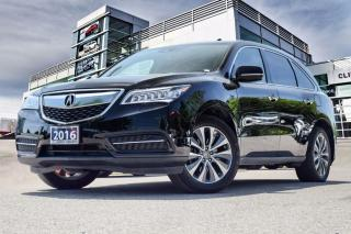 Used 2016 Acura MDX Navi Accident Free| Remote Start| Back-Up Cam for sale in Thornhill, ON