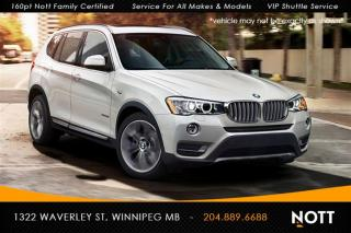 Used 2017 BMW X3 xDrive28i One Owner Navi Pano for sale in Winnipeg, MB