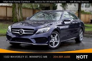 Used 2015 Mercedes-Benz C-Class C400 4MATIC 1 Owner Navigation for sale in Winnipeg, MB