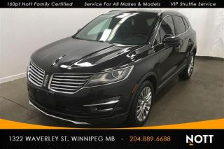 Used 2015 Lincoln MKC AWD Nav Moon Roof Heated/Coole for sale in Winnipeg, MB