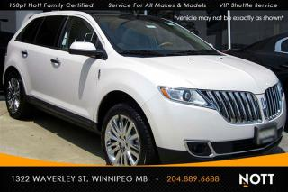 Used 2015 Lincoln MKX One Owner Navi Panoramic Roof for sale in Winnipeg, MB