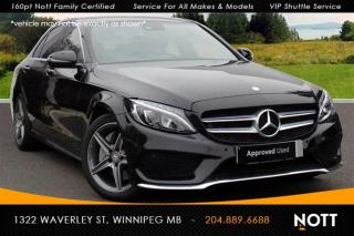 Used 2015 Mercedes-Benz C-Class C300 4MATIC AMG PKG, Light PKG for sale in Winnipeg, MB