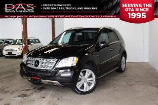 Used 2011 Mercedes-Benz ML-Class ML350 4MATIC NAVIGATION/SUNROOF/LEATHER for sale in North York, ON