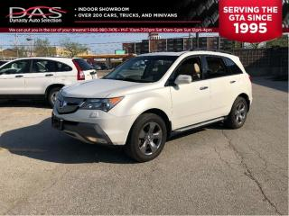 Used 2008 Acura MDX Elite Package Navigation/Leather/Sunroof for sale in North York, ON