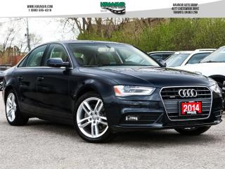 Used 2014 Audi A4 2.0 Technik for sale in North York, ON