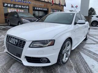 Used 2012 Audi S4 4dr Sdn S tronic Premium for sale in North York, ON