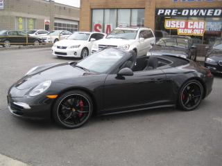 Used 2014 Porsche 911 Carrera 4S Cabriolet PDK for sale in North York, ON