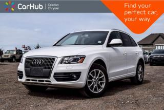 Used 2011 Audi Q5 2.0L Premium Plus|Pano Sunroof|Bluetooth|Leather|Heated Front & Rear Seats|18