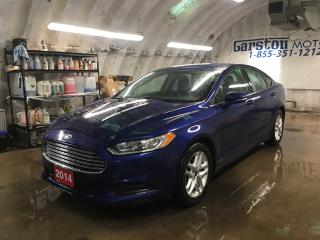 Used 2014 Ford Fusion SE*MICROSOFT SYNC PHONE CONNECT*BACK UP CAMERA*POWER DRIVER SEAT*KEYLESS ENTRY*POWER WINDOWS/LOCKS/HEATED MIRRORS*DUAL ZONE CLIMATE CONTROL* for sale in Cambridge, ON