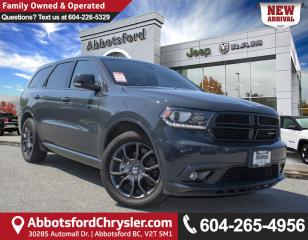 Used 2017 Dodge Durango R/T *ACCIDENT FREE* *LOCALLY DRIVEN* for sale in Abbotsford, BC