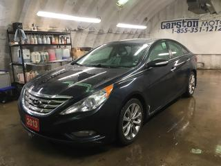 Used 2013 Hyundai Sonata LIMITED*POWER SUNROOF*LEATHER*PHONE CONNECT*HEATED FRONT SEATS*POWER DRIVER SEAT*KEYLESS ENTRY*PUSH BUTTON IGNITION* for sale in Cambridge, ON