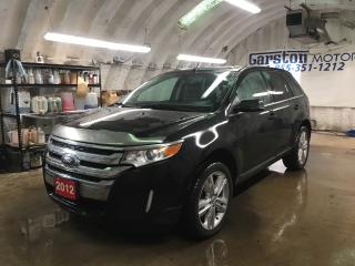 Used 2012 Ford Edge LIMITED*AWD*NAVIGATION*POWER PANORAMIC SUNROOF*BACK UP CAMERA*LEATHER*POWER HEATED FRONT SEATS*MICROSOFT SYNC PHONE CONNECT*REAR LIFT GATE* for sale in Cambridge, ON