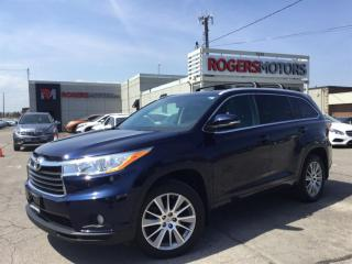 Used 2015 Toyota Highlander XLE AWD V6 - NAVI - 7 PASS - LEATHER for sale in Oakville, ON