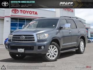 Used 2008 Toyota Sequoia Platinum 5.7L V8 6A 7-Pass FULLY LOADED, LEATHER, NAVI, SUNROOF AND MORE for sale in Mono, ON