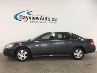 Used 2011 Chevrolet Impala LS - 3.5L! KEYLESS ENTRY! A/C! ON STAR! CRUISE! for sale in Belleville, ON