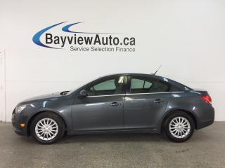 Used 2013 Chevrolet Cruze LT Turbo - TURBO! REM START! A/C! ON STAR! CRUISE! for sale in Belleville, ON