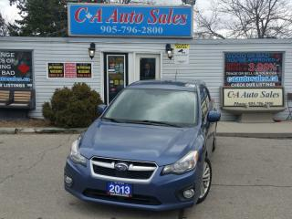 Used 2013 Subaru Impreza 2.0i Premium DONT LET THE KM FOOL YOU  NON ACCIDENT for sale in Brampton, ON