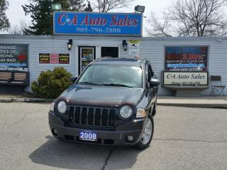 Used 2008 Jeep Compass 4dr Sport Navi, sunroof, heated seats low km for sale in Brampton, ON
