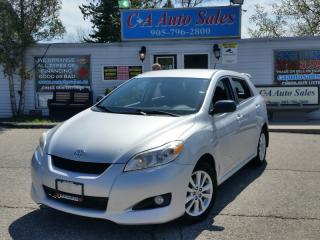 Used 2010 Toyota Matrix 4dr Wgn FWD for sale in Brampton, ON
