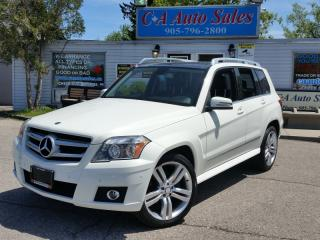 Used 2010 Mercedes-Benz GLK-Class ALL WHEEL DRIVE with SUNROOF AND LEATHER for sale in Brampton, ON