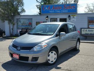 Used 2009 Nissan Versa LOW KM ACCIDENT FREE WELL WORTH THE EXTRA BUCK for sale in Brampton, ON