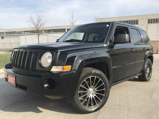 Used 2007 Jeep Patriot 4X4,  Automatic, Black, 3/Y warranty availab for sale in North York, ON