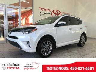 Used 2017 Toyota RAV4 PLATINUM for sale in Mirabel, QC