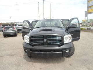 Used 2007 Dodge Ram 1500 SPORT 5.7 LHEMI  4X4 4DR QUADS PL PW PM A/C ALLOY for sale in Oakville, ON