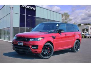 Used 2016 Land Rover Range Rover Sport HST LE HST | REDUCED | HEATED/COOLED LEATHER | NAV for sale in Fredericton, NB