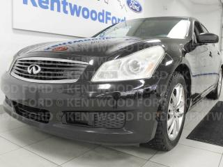 Used 2008 Infiniti G35X G35X with sunroof, heated power leather seats, push start/stop and back up cam for sale in Edmonton, AB